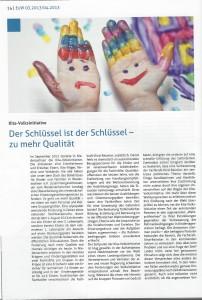 """Artikel """"Der Schlüssel ist der Schlüssel - zu mehr Qualität"""" - Seite 1"""
