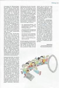 """Artikel """"Der Schlüssel ist der Schlüssel - zu mehr Qualität"""" - Seite 2"""