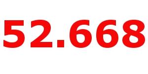 Offizielle Zahl
